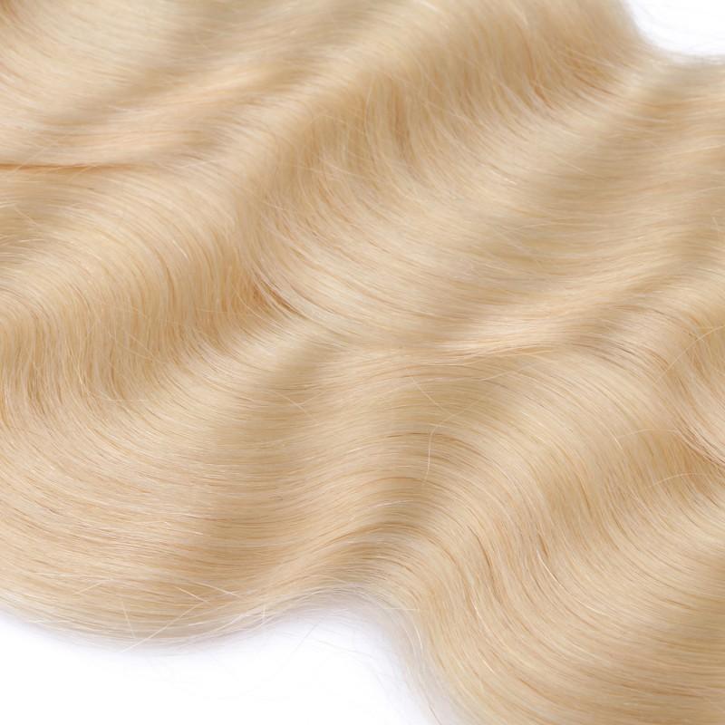 25 keratin bonding hair extensions 613 helllichtblond gewellt 100. Black Bedroom Furniture Sets. Home Design Ideas
