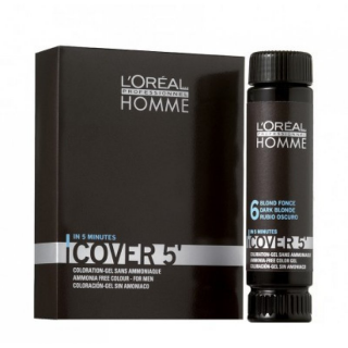 Loreal Homme COVER 5 - Grauhaarkaschierung - 3x50ml