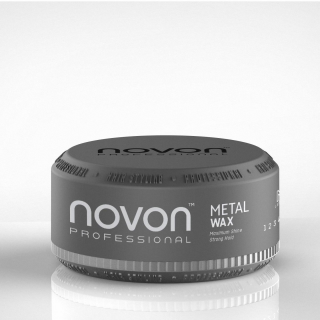 Novon Professional Metal Wax 150ml - Aqua Hair Wax