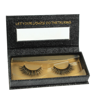 3D MINK EYELASHES - MK02 - 100% Echthaar - by NOVON Eyelashes