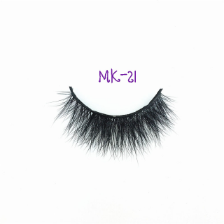 3D MINK EYELASHES - MK21 - 100% Echthaar - by NOVON Eyelashes