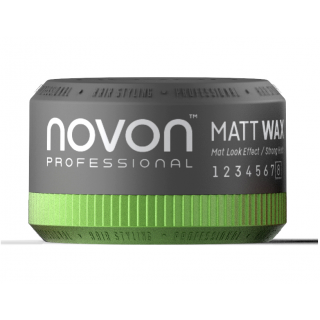 Novon Professional Matt Wax 50ml - Aqua Hair Wax